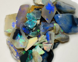 From Miner's Cutting Bench- Colourful Bright Material #40