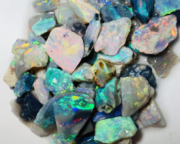 Load of Colours- Multicolour Bright Rough Opals to Cut #44