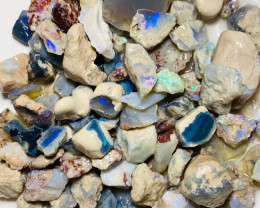 475 Cts of Colourful Rough Nobby Material to Gamble & Explore