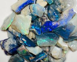 Plenty to Cut - Beautiful Bright Rough Seam Opals