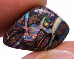 Koroit Boulder Opal Ring Stone AOH-1316  -australianopalhunter