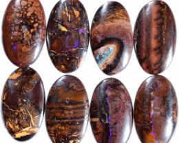 $14 per stone 24x14x6 mm calibrated Koroit oval boulder parcel-[FJP4800]