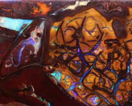 Koroit Boulder Opal Stone AOH-1320  -australianopalhunter