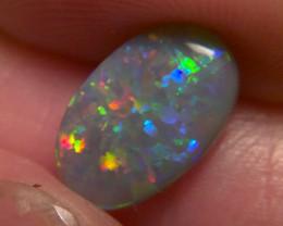 1.60 cts Top Notch Lightning Ridge Dark Opal, No Reserve