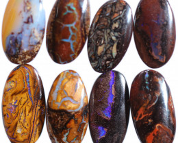 $8 per stone 18x9x4 mm calibrated Yowah oval boulder parcel7-[FJP4840]