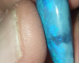 Large lightning ridge black opal