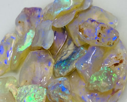 Handpicked Super Bright Very Clean Crystal Rough Opals to Cut #61