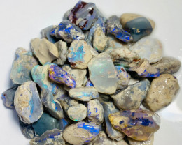 480 cts of Rough Nobby Opals with Lots of Colour & Great Potential