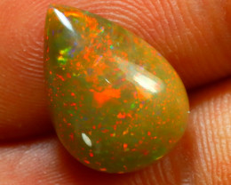 Welo Opal 3.48Ct Natural Ethiopian Cabochon Play of Color Opal G2504/A3