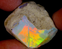 32cts Natural Ethiopian Welo Rough Opal / WR9914