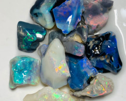 Cutters Select Colourful Rough Opals