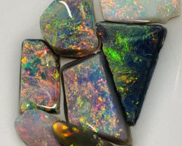 Multicolour Bright Rough / Rubs - 15.4 CTs of Handpicked Pieces #96