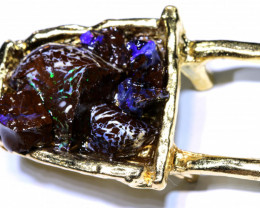 150.0 CTS WHEEL BARROW WITH OPALS OF-3075 OPALSFOREVER