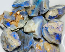 Big Size Bright Seam Rough Opals to Cut, Carve & Polish