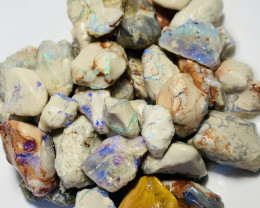 360 CTs of Bright Rough Nobby Opals to Gamble & Explore #97