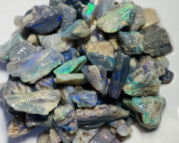 170 CTs of Dark Rough Nobby Opals to Gamble & Explore #120