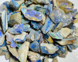 480 Cts of High Potential Bright Rough Seam Opals