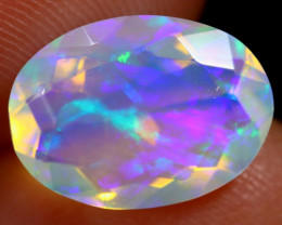 2.55cts Natural Ethiopian Faceted Welo Opal / ABF898