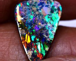 10.90cts  Boulder  Opal Cut Stone  TBO-A4256 Trueblueopals