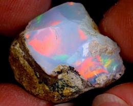 13cts Natural Ethiopian Welo Rough Opal / AWR115