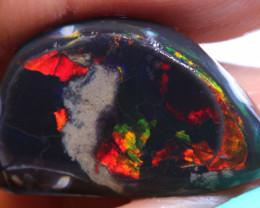 6.90 cts Black Opal Prefinished Rub  DT-A5986 - dreamtimeopals