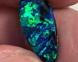 N1 Jet Black Super Bright Seam Opal Rub - Stunning Pattern & Colour Play
