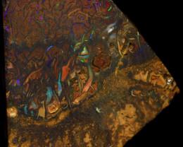 100 CTS KOROIT OPAL PRE SHAPED RUB CRO-1840     CROWNOPAL