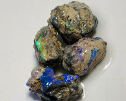 Bright Nobby Opal Specimens - Carvers or Collectors Deal