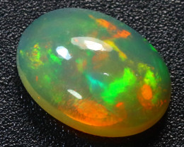 Welo Opal 3.12Ct Natural Ethiopian Cabochon Play of Color Opal  G0701/A3