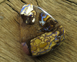 38cts, YOWAH OPAL MINER~DRILLED STONE.
