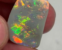 Top Quality Big Size Super Clean Multicolour Opal Rub - Will Finish A Preci