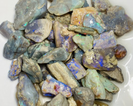 320 CTs of Colourful Rough Opals to Carve & Cut #236