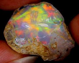 15cts Natural Ethiopian Welo Rough Opal / AWR242