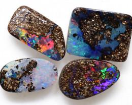 4.33 Carats Boulder Opal Cut Stone Parcel  ANO-3901