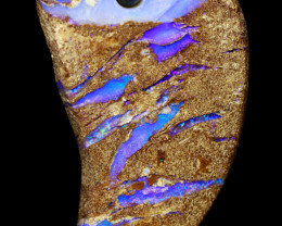 18 CTS PIPE OPAL DRILLED PENDANT CRO-2011   CROWNOPAL