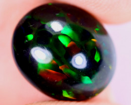 3.62cts Natural Ethiopian Welo Smoked Opal / UX2238