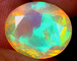 4.64cts Natural Ethiopian Faceted Welo Opal / UX2270
