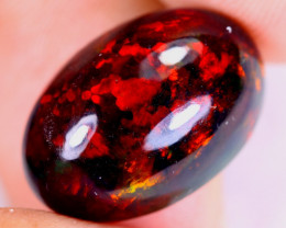 6.62cts Natural Ethiopian Welo Smoked Opal / UX2271