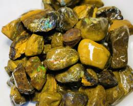 Koroit Matrix Rough Boulder Opals With Nice Colours-1000 CTs #287