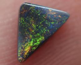 0.32CT Dark Opal Lightning Ridge DH