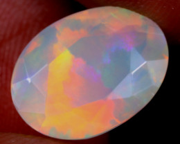 3.08cts Natural Ethiopian Faceted Welo Opal / NY4071