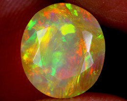 2.51cts Natural Ethiopian Faceted Welo Opal / NY4084