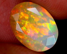 2.44cts Natural Ethiopian Faceted Welo Opal / NY4114