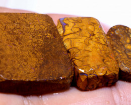92.60 cts Yowah Opal Prefinished Rub Parcel ADO-A852 adopals