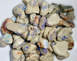 Plenty of Colour in these Rough Opals to Keep busy Gambling & Exploring