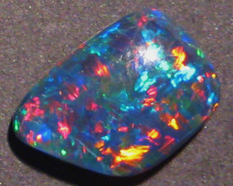 Vibrant Australian Coober Pedy Opal Freeform Triplet (1199d)