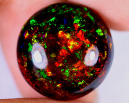 10.08cts Natural Ethiopian Welo Smoked Opal / JUX2281
