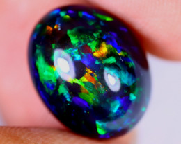 7.63cts Natural Ethiopian Welo Smoked Opal / JUX2284