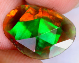 Rose Cut 1.92cts Natural Ethiopian Welo Smoked Opal / UX2335