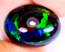 9.80cts Natural Ethiopian Welo Smoked Opal / JUX2346